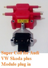 Supercoil Audi VW Skoda plus module